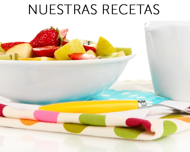 recetas frutas