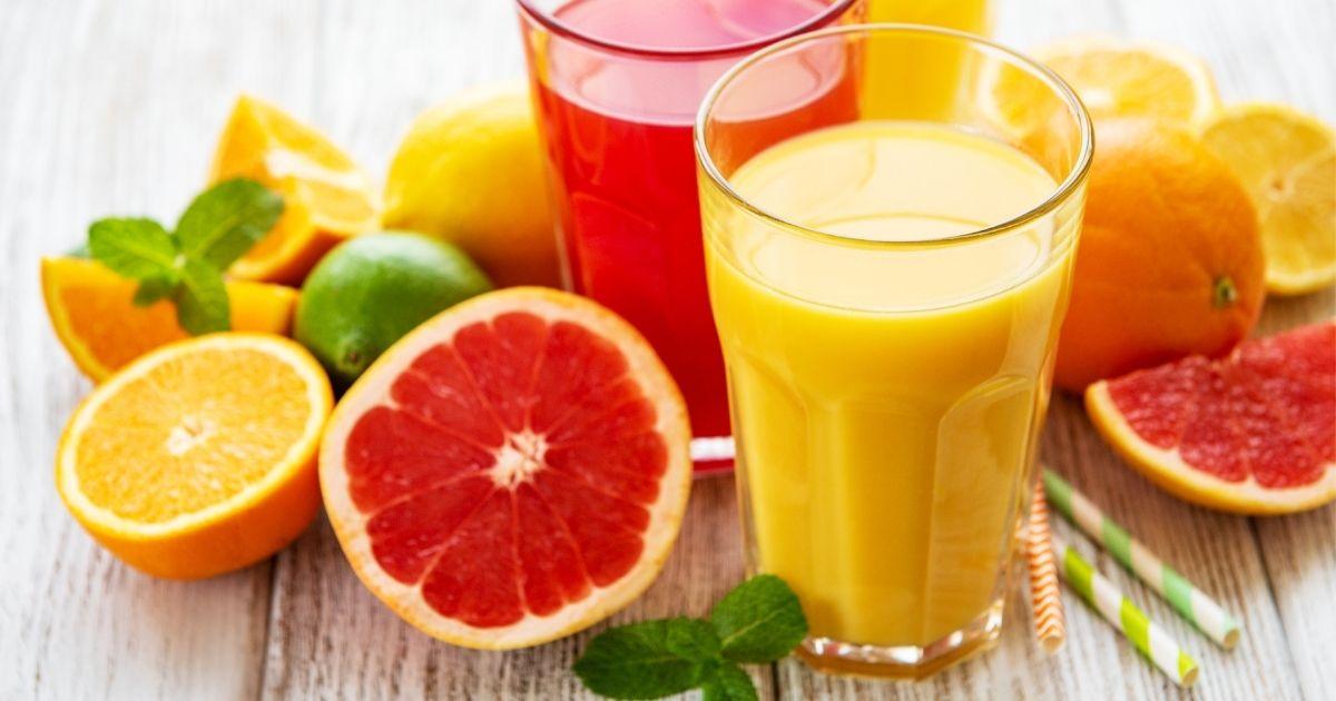 zumos de cítricos