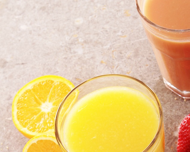 zumos y néctares saludables