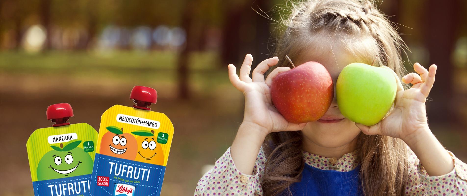 Tufruti, fruta para llevar