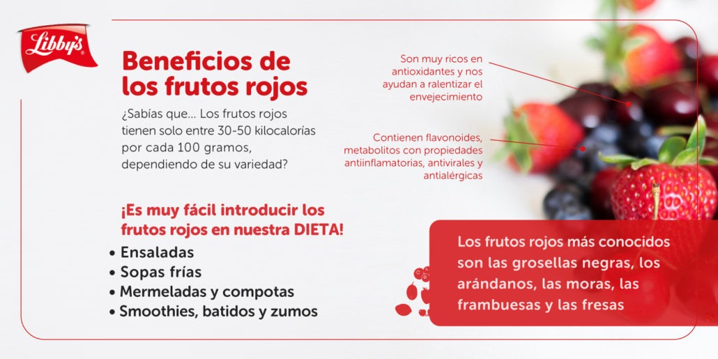 Beneficios frutos rojos