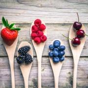 frutos rojos calorías