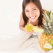 Combinar las frutas