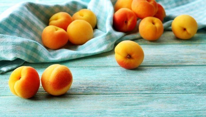 melocoton fruta para el corazon