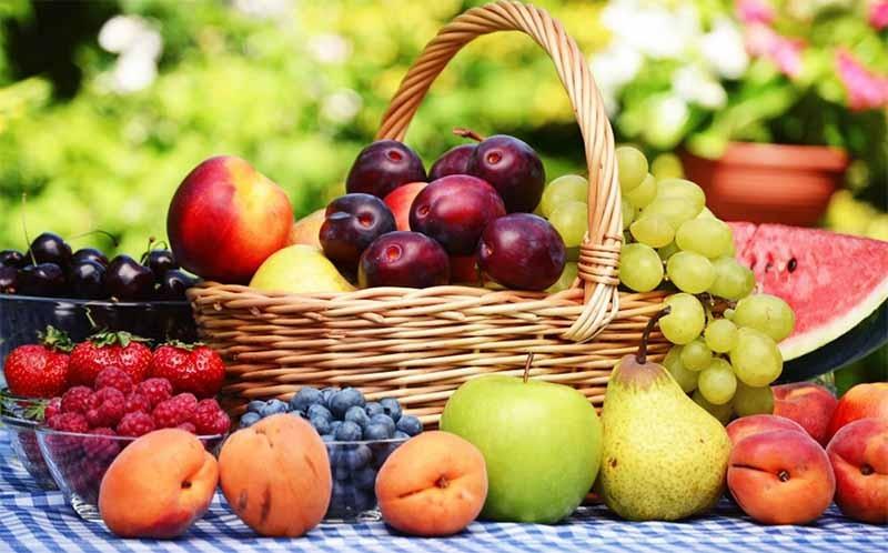 los diferentes estados de la fruta