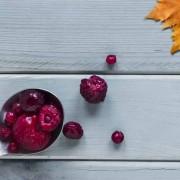 Fruta de temporada en otoño