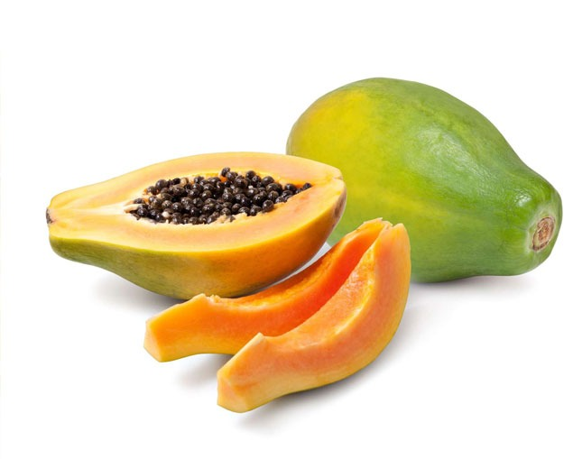Papaya-naranja. Beneficios de la fruta