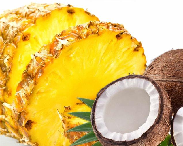 Piña-coco. Beneficios de la fruta