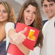 Zumos de fruta en la adolescencia