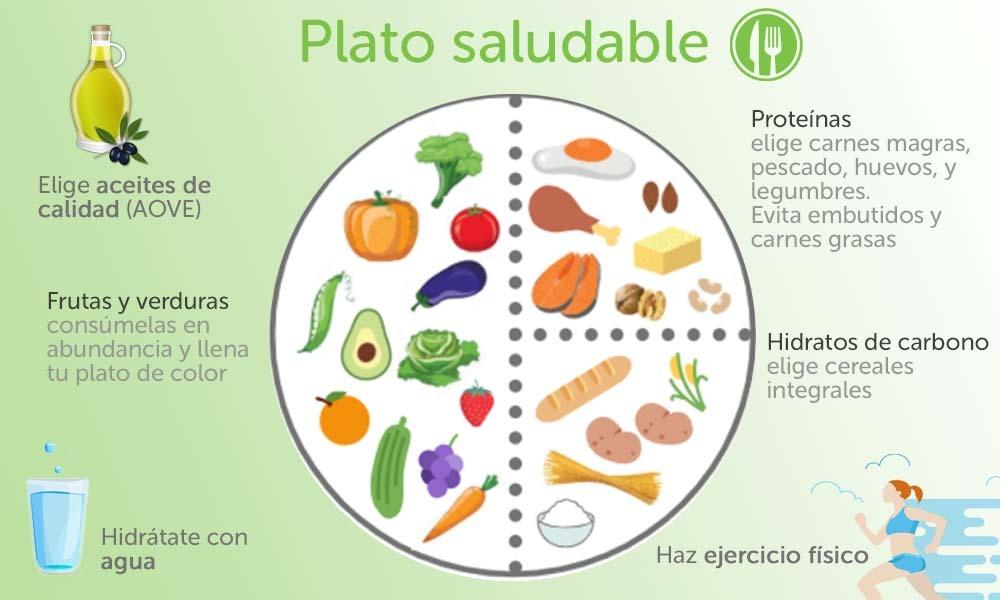 Que es el plato saludable