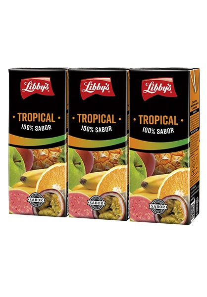100% sabor Tropical