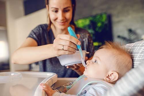 alimentación infantil 6-12 meses