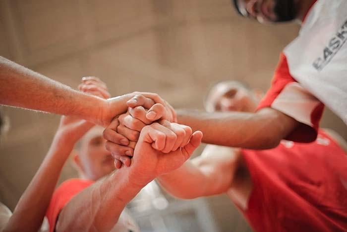 nutrición deportiva equipo