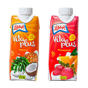 Vitaplus, fruta y leche