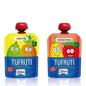 Tufruti, puré de frutas