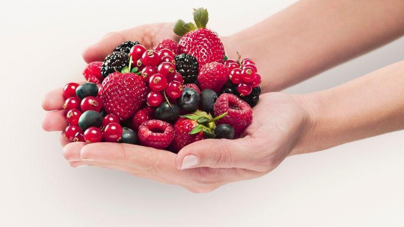 6 frutos rojos antioxidantes