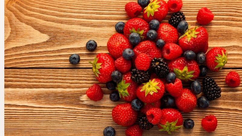frutos rojos salud